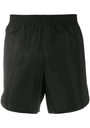 BALENCIAGA logo running shorts - Black