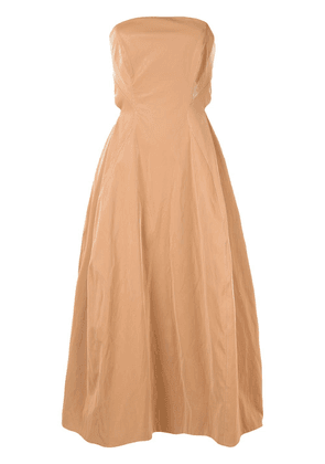 CAMILLA AND MARC Alexie patent dress - Brown