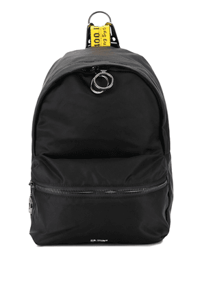 Off-White mini Industrial strap backpack - Black