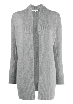 Vince open-front mid-length cardigan - Grey