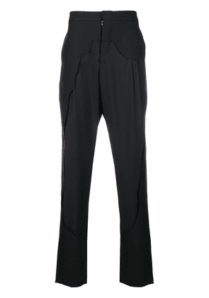 Chalayan framed trousers - Black