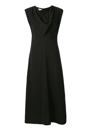 Beaufille Lorrain cowl neck crepe dress - Black