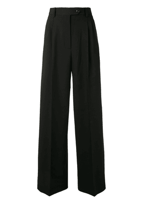 Beaufille high-waisted wide leg trousers - Black