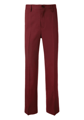 Doublet embroidered panda tailored trousers