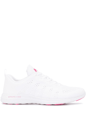 APL: ATHLETIC PROPULSION LABS knit upper low-top sneakers - White