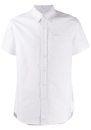 Saturdays Nyc Esquina slim-fit cotton shirt - White