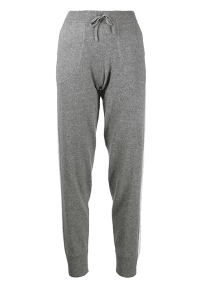 Bella Freud drawstring tracksuit cashmere bottoms - Grey