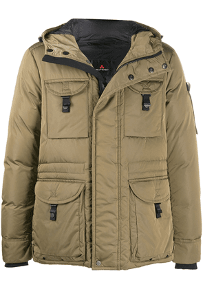 Peuterey hooded padded jacket - Green