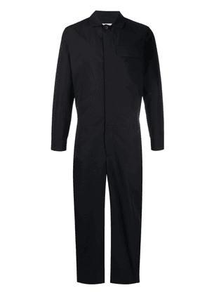 Stephan Schneider Lecture straight-leg cotton jumpsuit - Black