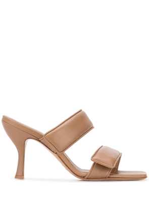 Gia Couture x Pernille Teisbaek double strap sandals - Brown