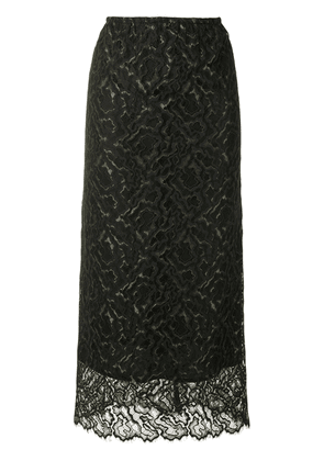 Beaufille lace maxi skirt - Black