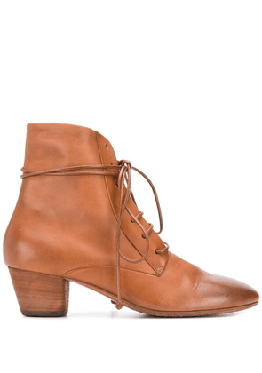Marsèll ankle lace-up boots - Brown