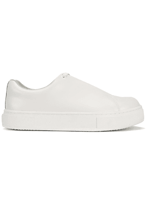 Eytys White Doja Leather Sneakers