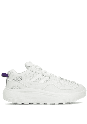 Eytys platform low top sneakers - White