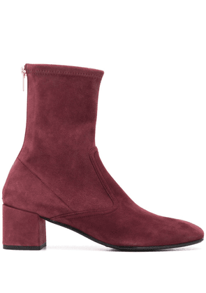Fratelli Rossetti suede ankle boots - PURPLE
