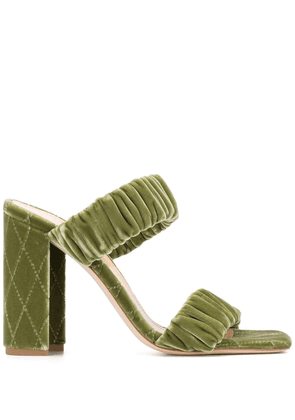 Chloe Gosselin Morgan slip-on sandals - Green