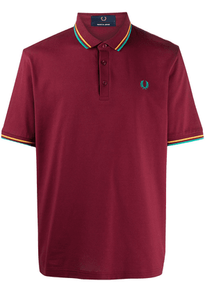 Fred Perry embroidered logo cotton polo shirt