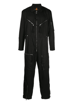 Vivienne Westwood zipped cotton bolier suit - Black