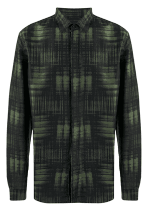 Costumein printed button-up shirt - Green