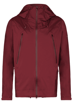 Descente Allterrain Creas hooded jacket - Red