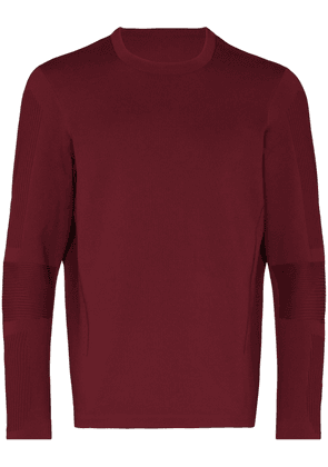 Descente Allterrain FusionKnit performance jumper - Red
