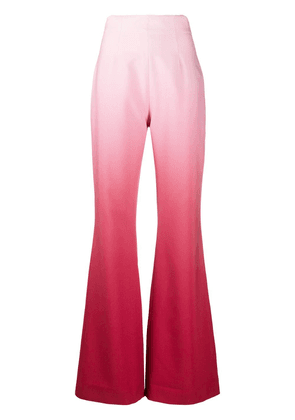 16Arlington Newman flared ombré trousers - PINK