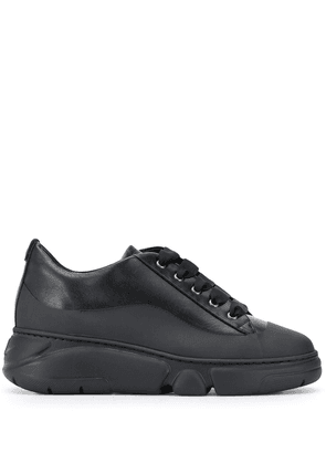 AGL chunky low-top trainers - Black
