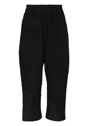 By Walid Gerald cropped trousers - Black