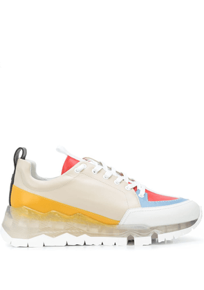Pierre Hardy Street Life colour-block sneakers - PINK