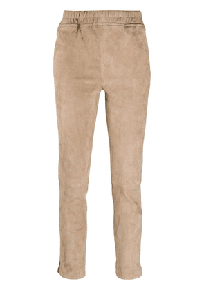 Arma slim-fit pull-on trousers - Neutrals