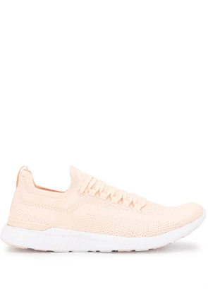APL: ATHLETIC PROPULSION LABS TechLoom Breeze knitted sneakers - PINK