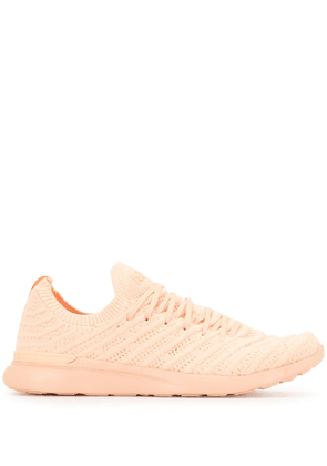 APL: ATHLETIC PROPULSION LABS TechLoom Wave knitted sneakers - PINK