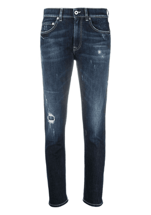 Dondup low-rise skinny-fit jeans - Blue