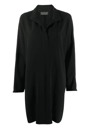 Gianluca Capannolo loose fit shirt dress - Black