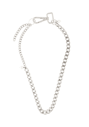 Marine Serre chunky chain necklace - SILVER
