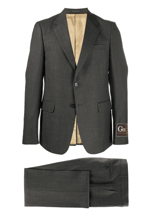 Gucci tailored single-breasted suit - Grey