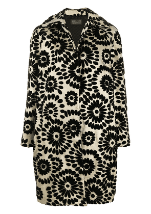Gianluca Capannolo floral patterned coat - GOLD