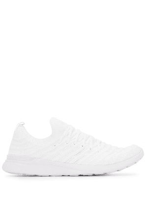 APL: ATHLETIC PROPULSION LABS TechLoom Wave knitted sneakers - White