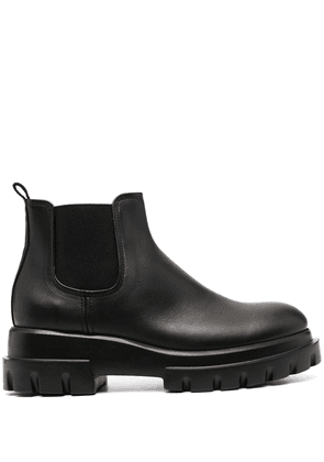AGL chunky sole ankle boots - Black