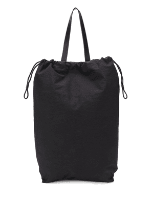 Building Block oversized shell backpack - Black