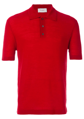 Pringle of Scotland knitted polo shirt - Red