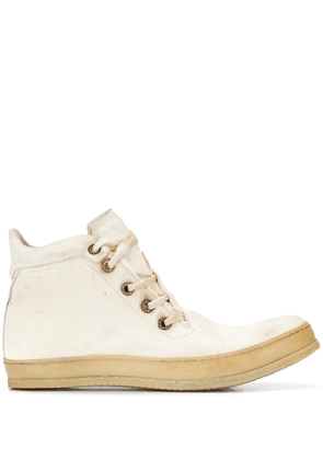 A Diciannoveventitre high-top lace-up sneakers - Neutrals