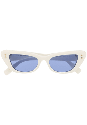 Just Cavalli cat-eye tinted sunglasses - White