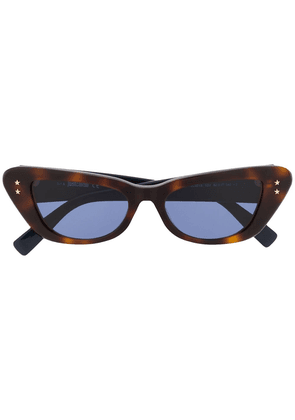 Just Cavalli slim cat-eye sunglasses - Brown