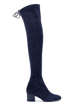 Baldinini over the knee high boots - Blue