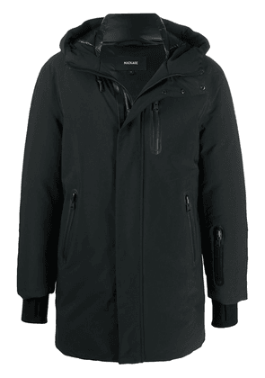 Mackage Chanor hooded mid-length parka - Black