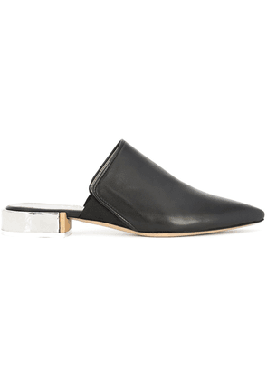 AGL pointed-toe mules - Black