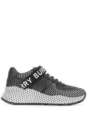 Burberry Ronnie low-top mesh sneakers - Black