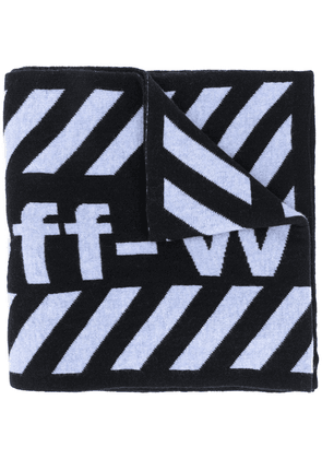 Off-White Arrows wool scarf - Black