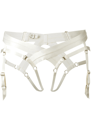 Bordelle bondage harness briefs - Neutrals